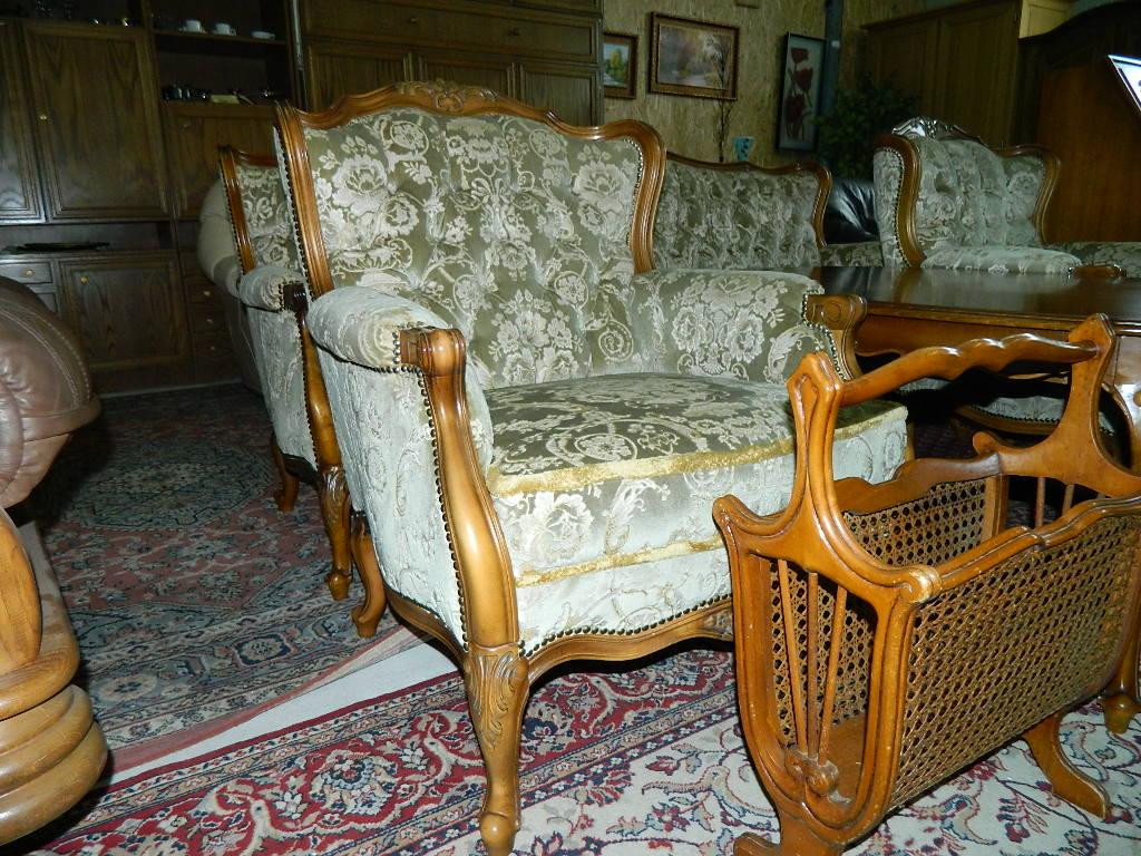 set canapea stil chippendale. Black Bedroom Furniture Sets. Home Design Ideas
