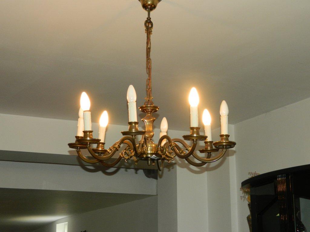 candelabre sh cu 8 brate design clasic mobilacaro. Black Bedroom Furniture Sets. Home Design Ideas