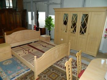 dormitor lemn masiv pin