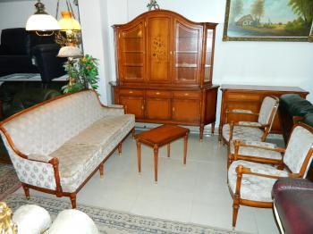Canapele Stil lemn masiv