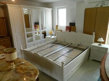 Dormitor lemn masiv  Olanda Alb