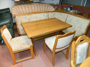 coltar bucatarie+masa+2 scaune
