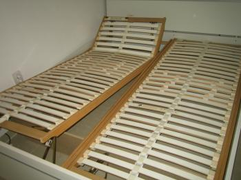 Suporti saltea din lemn arcuit reglabil